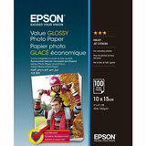 Фотобумага EPSON 100 mm x 150 mm Value Glossy Photo Paper 100 л (C13S400039)