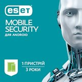ESET Mobile Security 1 пристрiй 3 роки