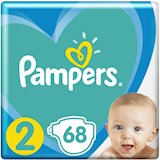 Подгузники Pampers New Baby Mini 2 (4-8 кг) 68 шт (8001090949653)