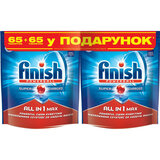 Таблетки FINISH All in 1 tab 65+65 BOGOF (5900627066098)