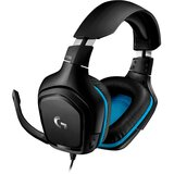 Гарнитура LOGITECH G432 7.1 Surround Sound Wired Gaming Headset (981-000770)