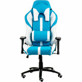 Кресло SPECIAL4YOU Extreme Race light blue/white (E6064)