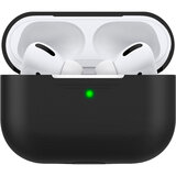 Чехол MAKEFUTURE Silicone для Apple AirPods Pro Black (MCL-AAPBK)