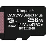 Карта памяти KINGSTON microSDXC 256GB Class 10 UHS-I (SDCS2/256GBSP)