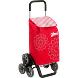 Сумка-тележка GIMI Tris 56 Floral Red (928420)
