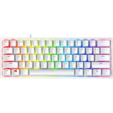 Клавиатура RAZER Huntsman mini Mercury Edition ENG purple switch (RZ03-03390300-R3M1)